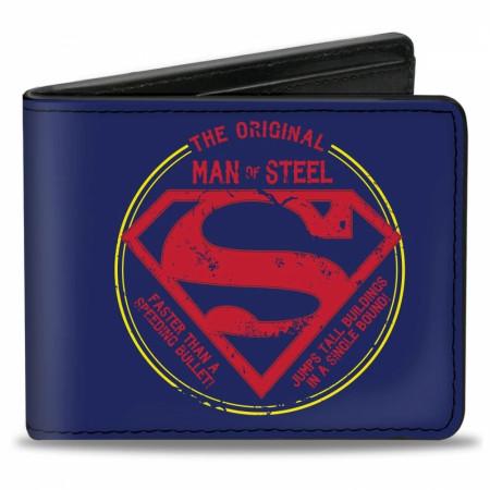 Superman Man of Steel Wallet