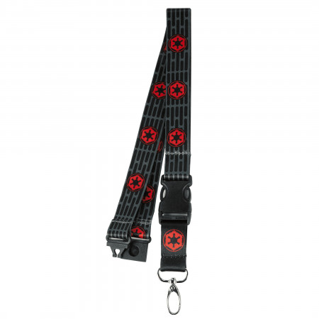 Star Wars Empire Repeating Logo Lanyard