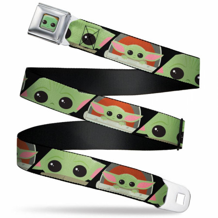 The Mandalorian Baby Yoda Chibi Seatbelt Belt