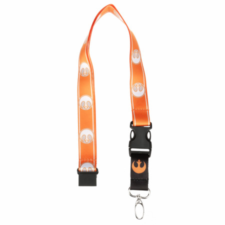 Star Wars Rebel Repeating Logo Lanyard
