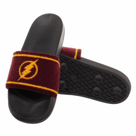DC Comics Flash Retro Logo Slide Sandals