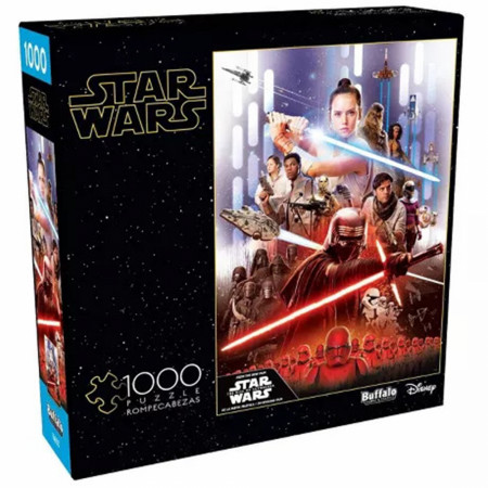 Star Wars Rise of Skywalker 1000 Piece Buffalo Games Jigsaw Puzzle