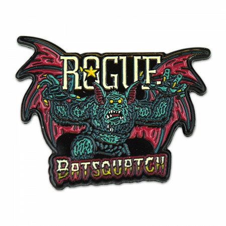 Rogue Ale Batsquatch 1.5 Inch Enamel Pin