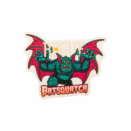 Rogue Ale Batsquatch 4-Inch Vinyl Sticker