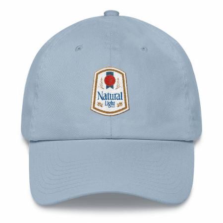 Natural Light Vintage Logo Adjustable Dad Hat