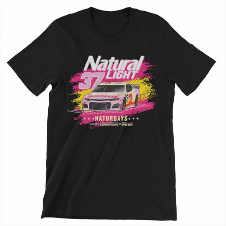 Naturdays NASCAR Natural Light #37 Car T-Shirt