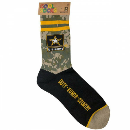 United States Army Crew Socks
