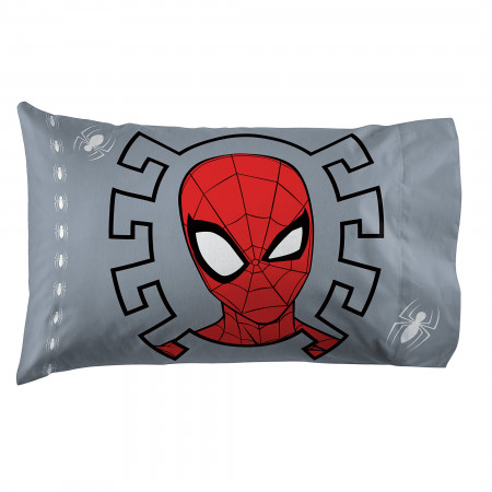 Spider-Man Mask Pillow Case