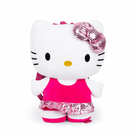 "Hello Kitty Plush 14"" Backpack Pillow Pal"