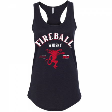 Fireball Whisky Women's Racerback Tank Top