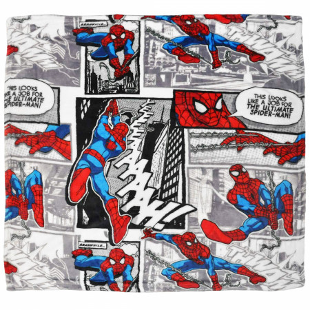 Spider-Man Flannel Baby Blanket