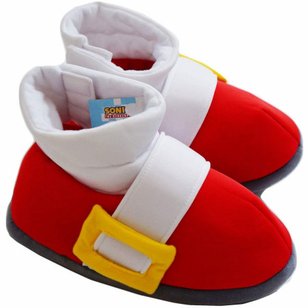 Sonic The Hedgehog Plush Adult Slippers