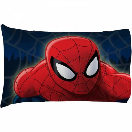 Marvel Spider-Man Saving The Day Microfiber 3-Piece Twin Sheet Set