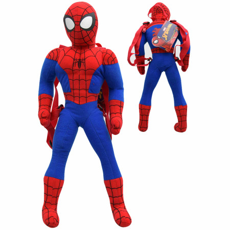 Spider-Man 20 Inch Plush Backpack