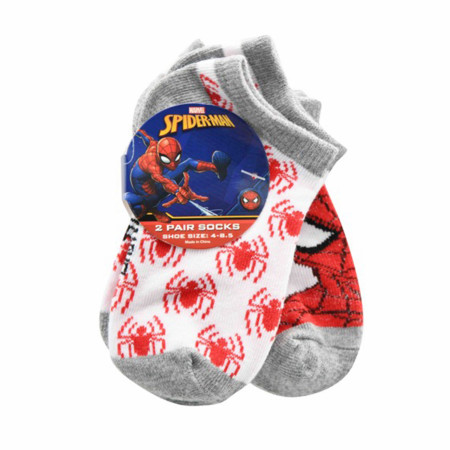 Spider-Man Toddlers 2-Pack Socks