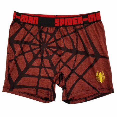 Spider-Man Web and Small Symbol Boxer Briefs