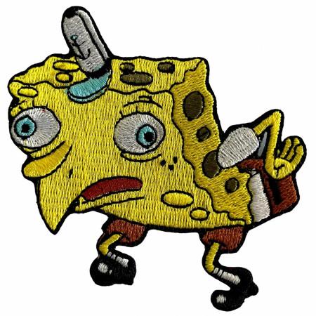 SpongeMock Meme SpongeBob SquarePants Patch