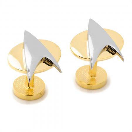 Star Trek Two Tone Delta Shield Cufflinks