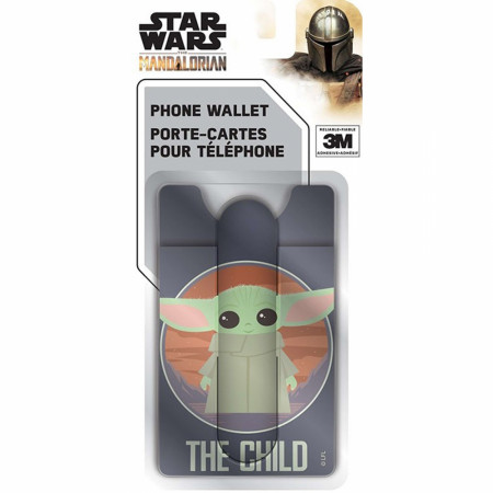 Star Wars The Mandalorian Grogu 3-in-1 Mobile Wallet