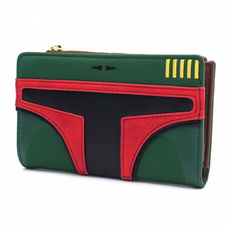Boba Fett Faux Leather Wallet