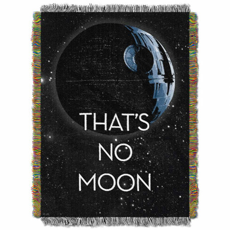 Star Wars That's No Moon Tapestry Throw