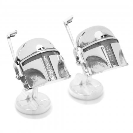 Star Wars 3D Boba Fett Cufflinks