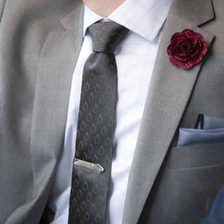 Star Wars Rebel Force Gray Men's Tie
