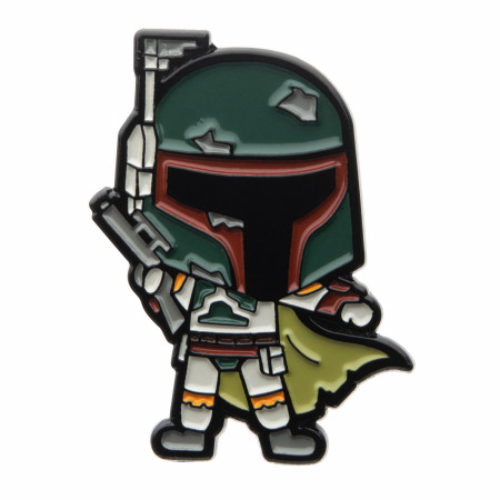 Star Wars Boba Fett Pin