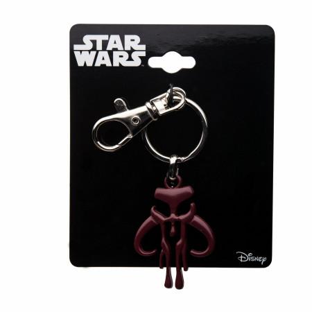 Star Wars Mandalorian Symbol Keychain