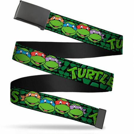 TMNT Teenage Mutant Ninja Turtles Heroes in a Half Shell Web Belt
