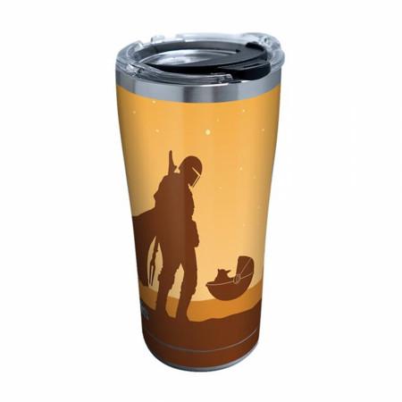 The Mandalorian Desert Baby Yoda Tervis® 20 Ounce Tumbler Travel Mug