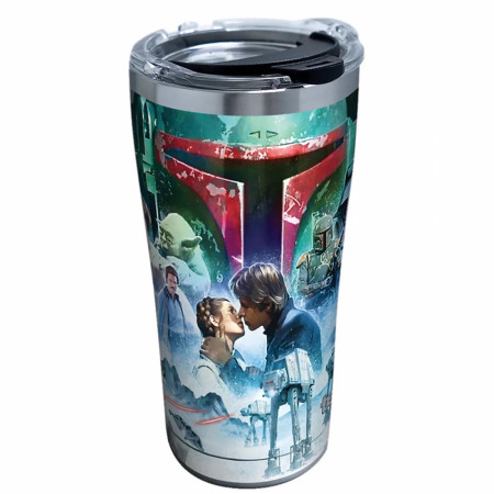 Star Wars Empire Strikes Back 40th Anniversary Collage 20 oz Tumbler