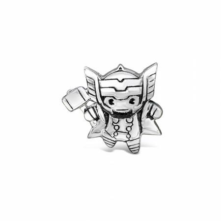 Marvel Avengers Chibi Thor Character Pendant Bead