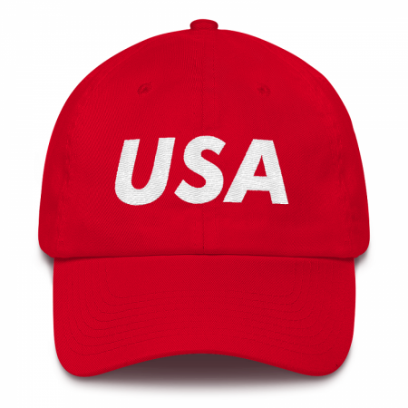 USA Red Dad Hat