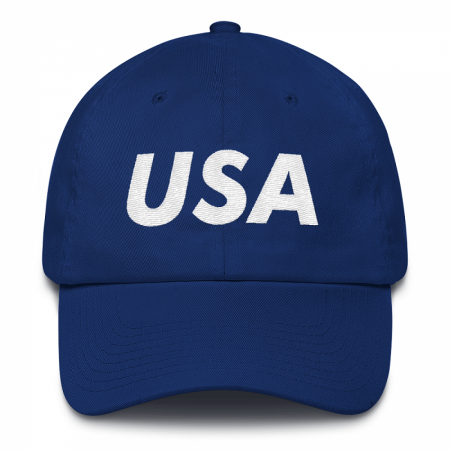 USA Blue Dad Hat