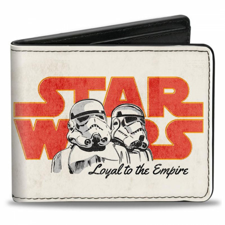 Star Wars Stormtroopers Loyal To The Empire Bi-Fold Wallet
