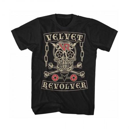 Velvet Revolver Skull T-Shirt