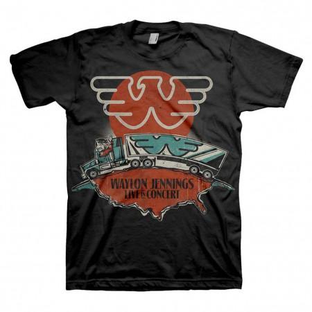 Waylon Jennings Live T-Shirt