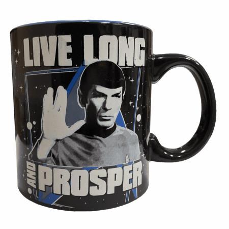 Star Trek Live Long and Prosper 20 Ounce Mug