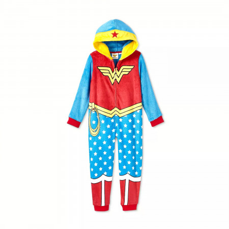 Wonder Woman Girls Costume Union Suit