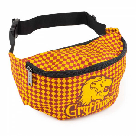 Harry Potter Gryffindor Lion with Shield Argyle Fanny Pack