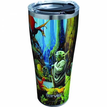 Star Wars Empire 40th Anniversary Yoda 20 oz Stainless Steel Tumbler
