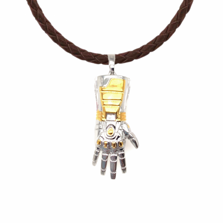 Marvel Endgame Stark Gauntlet Necklace