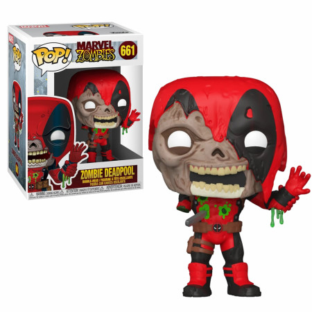 Marvel Zombies Deadpool Funko Pop!